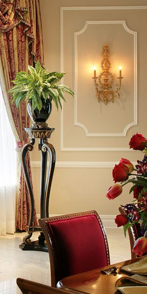 wall decor with carved wood Adam style wall sconce in gold leaf ...