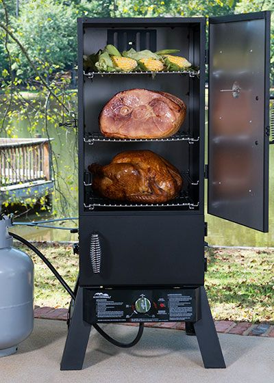 Cook Your Turkey Dinner In A Smoker Smoked Turkey