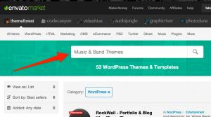 Template WordPress per Musicisti: esistono? Tu ne conosci?