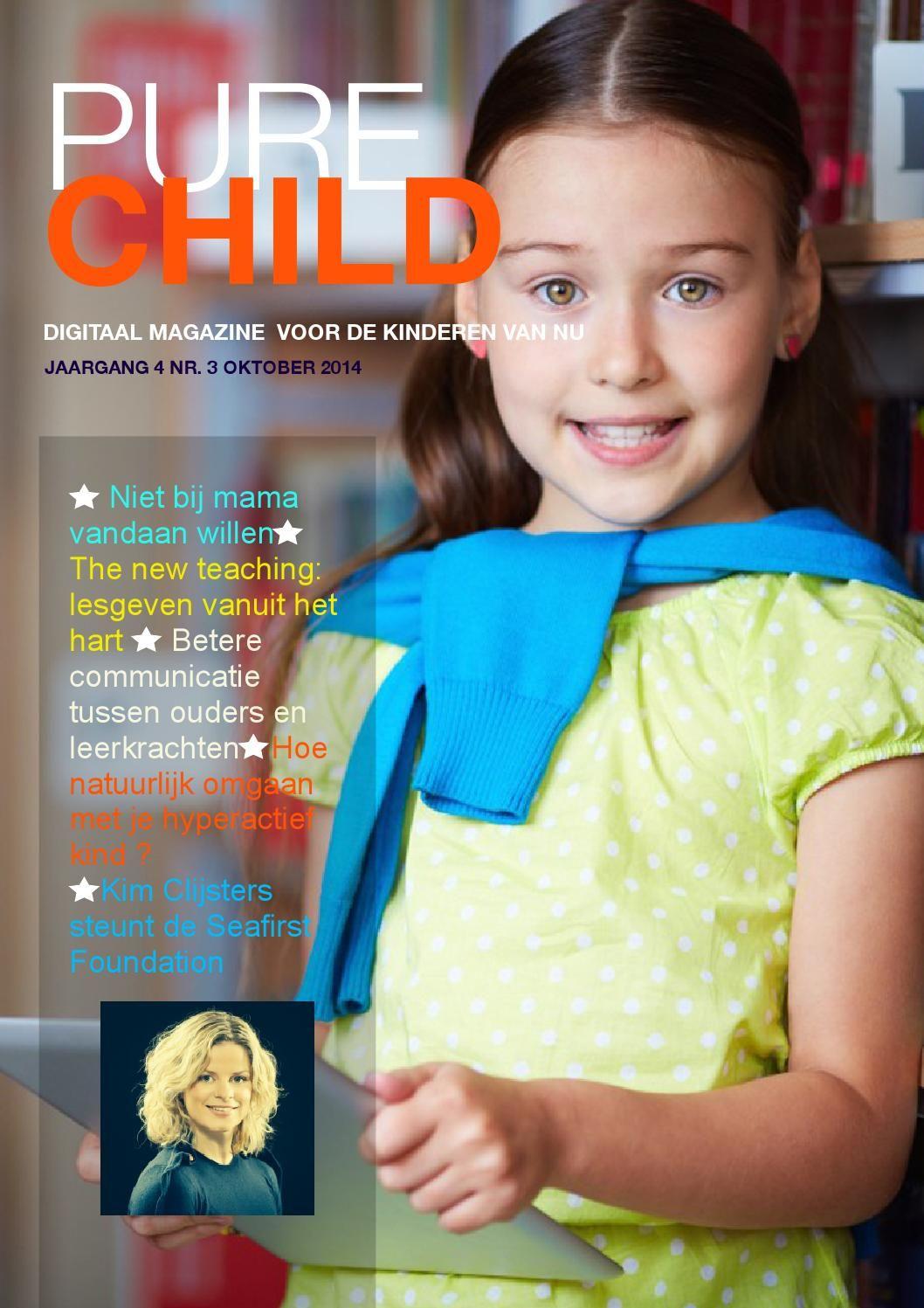 Pure Child is een gratis digitaal magazine dat een integrale opvoedkundige visie op het kind promoot.