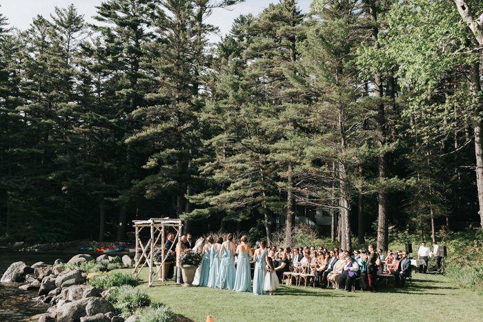Elegant Rustic Maine Wedding At Migis Lodge On Sebago Lake