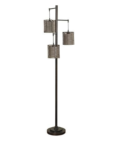 Look What I Found On Zulily Hand Woven Three Light Floor Lamp Zulilyfinds Metal Floor Lamps