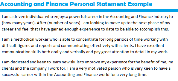 Actuarial Science Personal Statement Sample  Http://www.personalstatementsample.net/job Application Personal Statement  Examples/