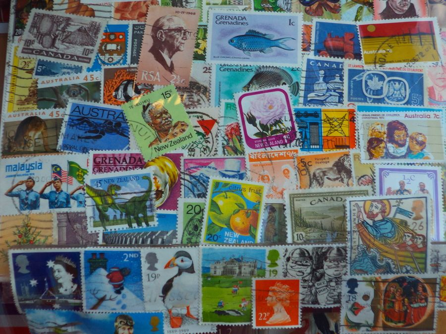 World of stamps or stamps of world