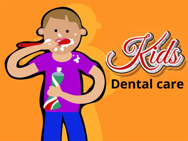Kids care Tooth decay can build up early and it is