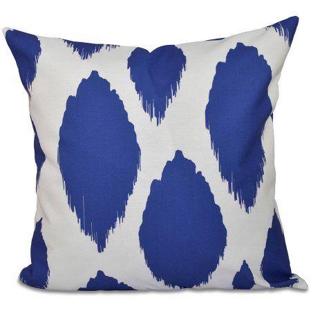 "Simply Daisy 16"" x 16"" Geometric Decorative Outdoor Pillow - Walmart.com"