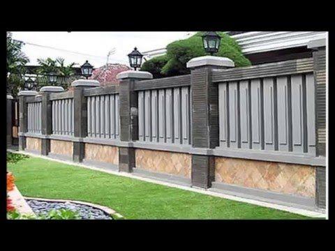 desain pagar rumah gaya modern | rumah mewah, desain