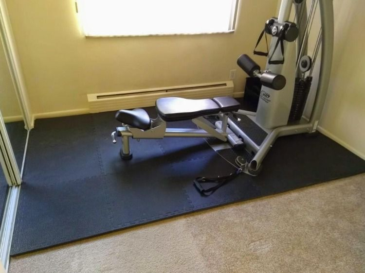 Exercise And Workout Room Flooring In 2020 Workout Room Flooring Room Flooring Home Gym Flooring