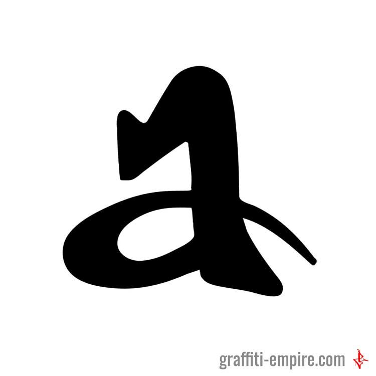 23da7695337e ▷ Graffiti Letter A in 2019