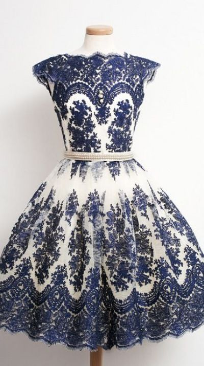 Vintage blue short prom dress, ball gown, ing, cute+dress+for+teens ...