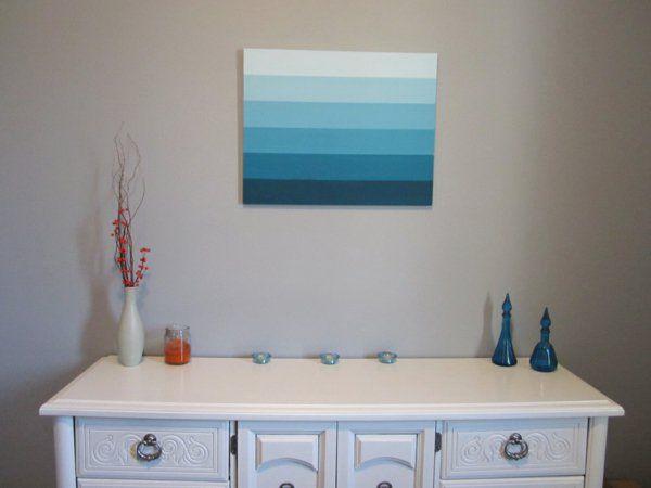 1001 ideen moderne leinwandbilder selber gestalten leinwandbilder gestalten und blau. Black Bedroom Furniture Sets. Home Design Ideas