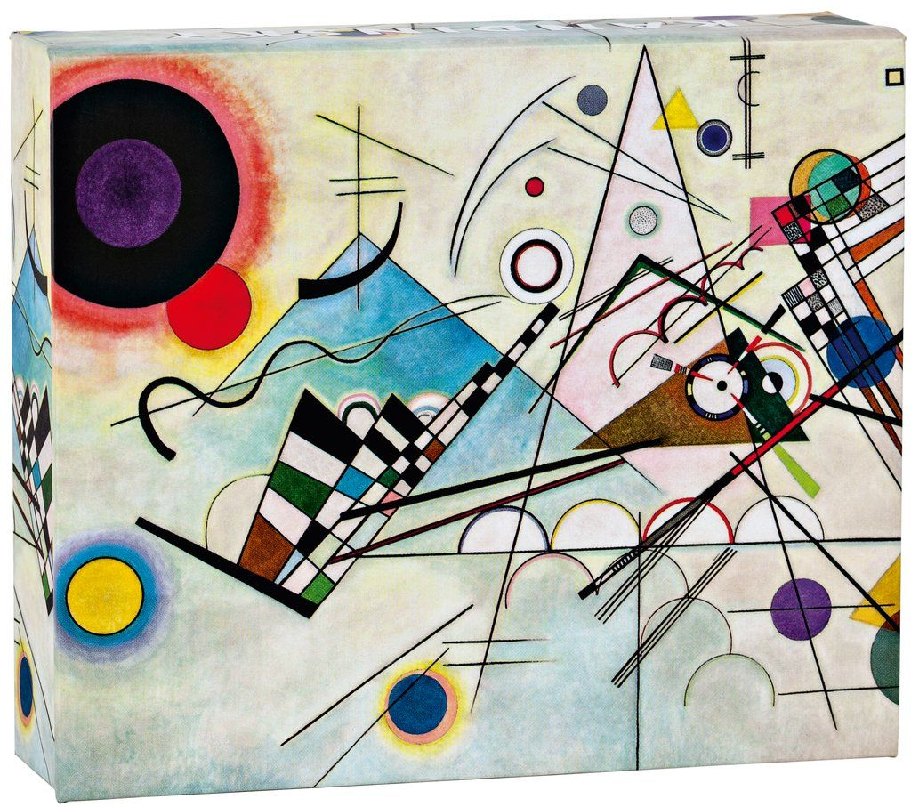Kandinsky Copmosition 8 Quicknotes Notecard Collection In A Gift Box With Magnetic Closure Kandinsky Art Wassily Kandinsky Popular Artwork