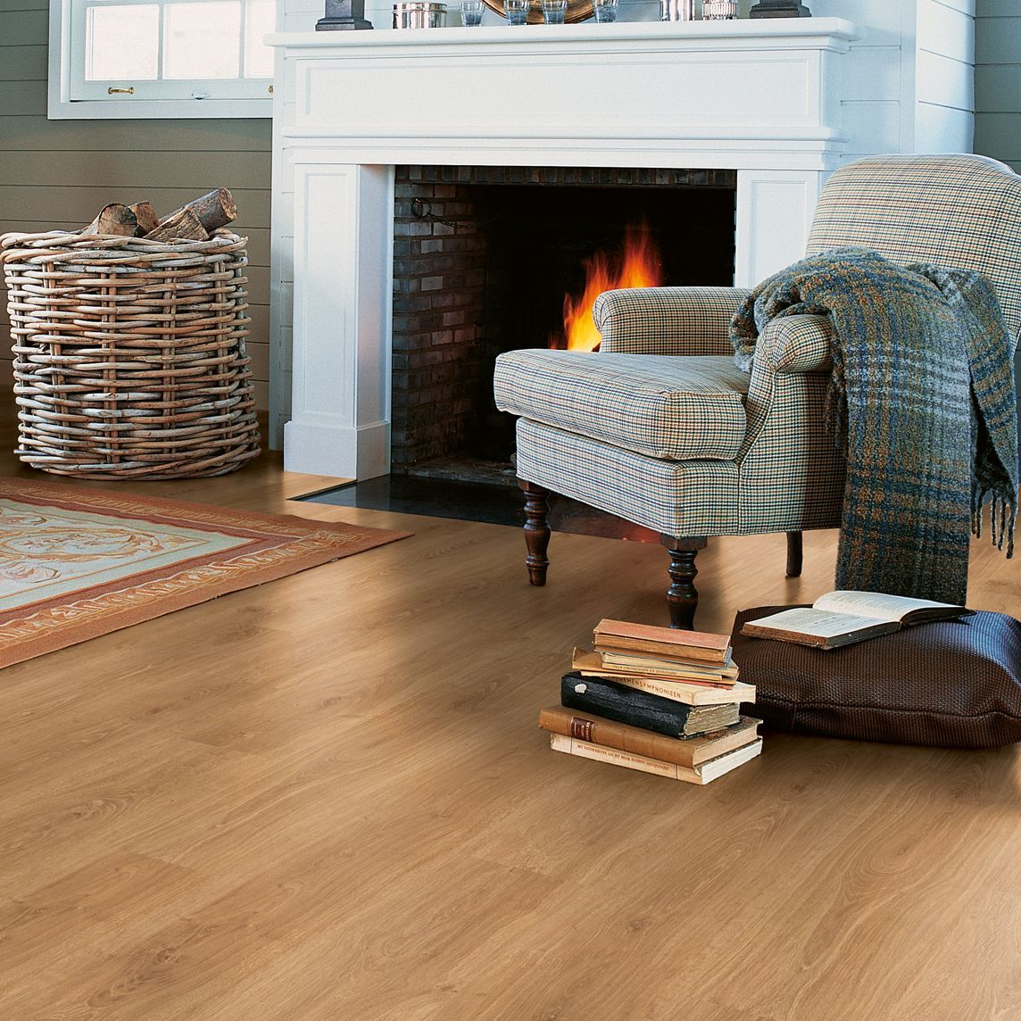 Calando Authentic Oak Effect Laminate Flooring 159 M Pack