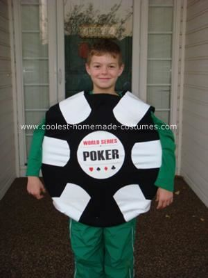 coolest world series of poker chip halloween costume - World Best Halloween Costumes