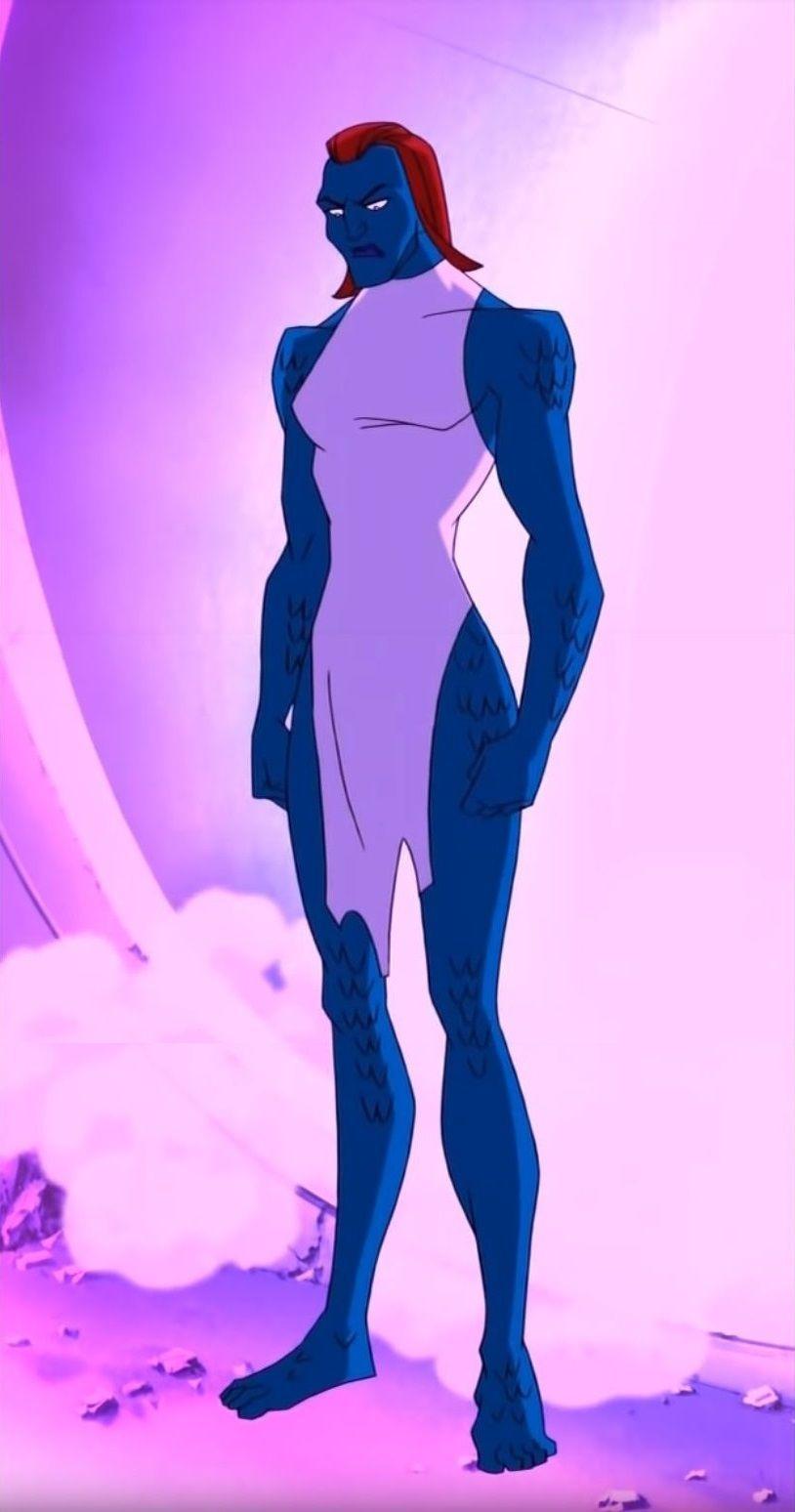 X Men Evolution Mystique Enhanced Form Mystique X Men Evolution X Men