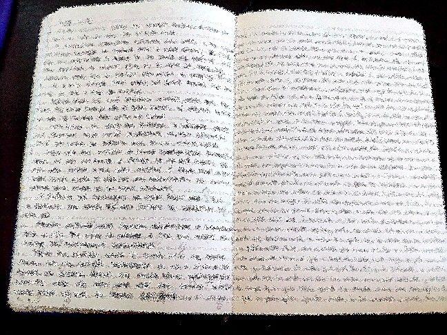 Sobre o que virou meu caderno de desenho..