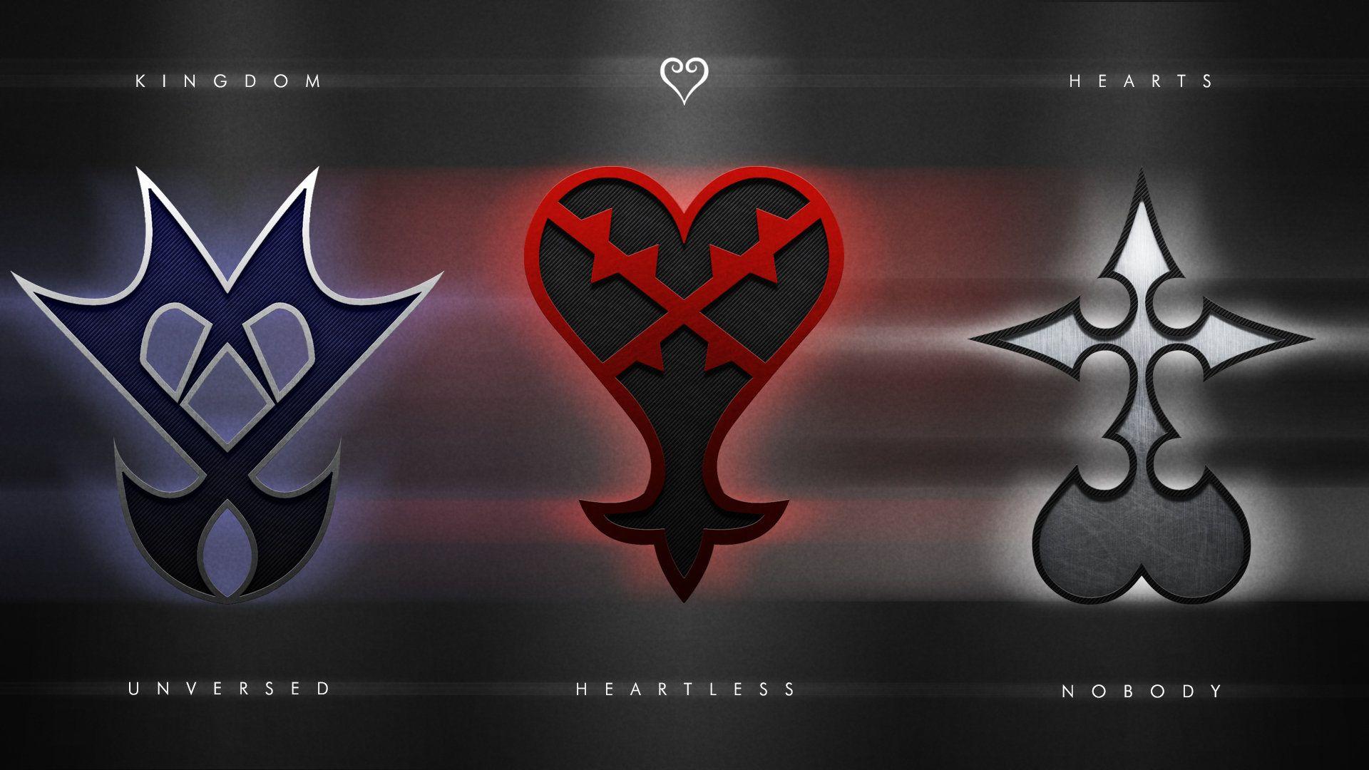 Kingdom Hearts Emblems Wallpaper by PencilXPaper