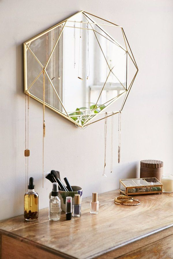 Such A Fun Way To Organize Your Necklaces Love This Gold