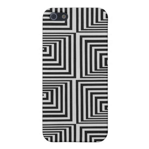 Abstract illusion geometric iphone case case for iPhone 5