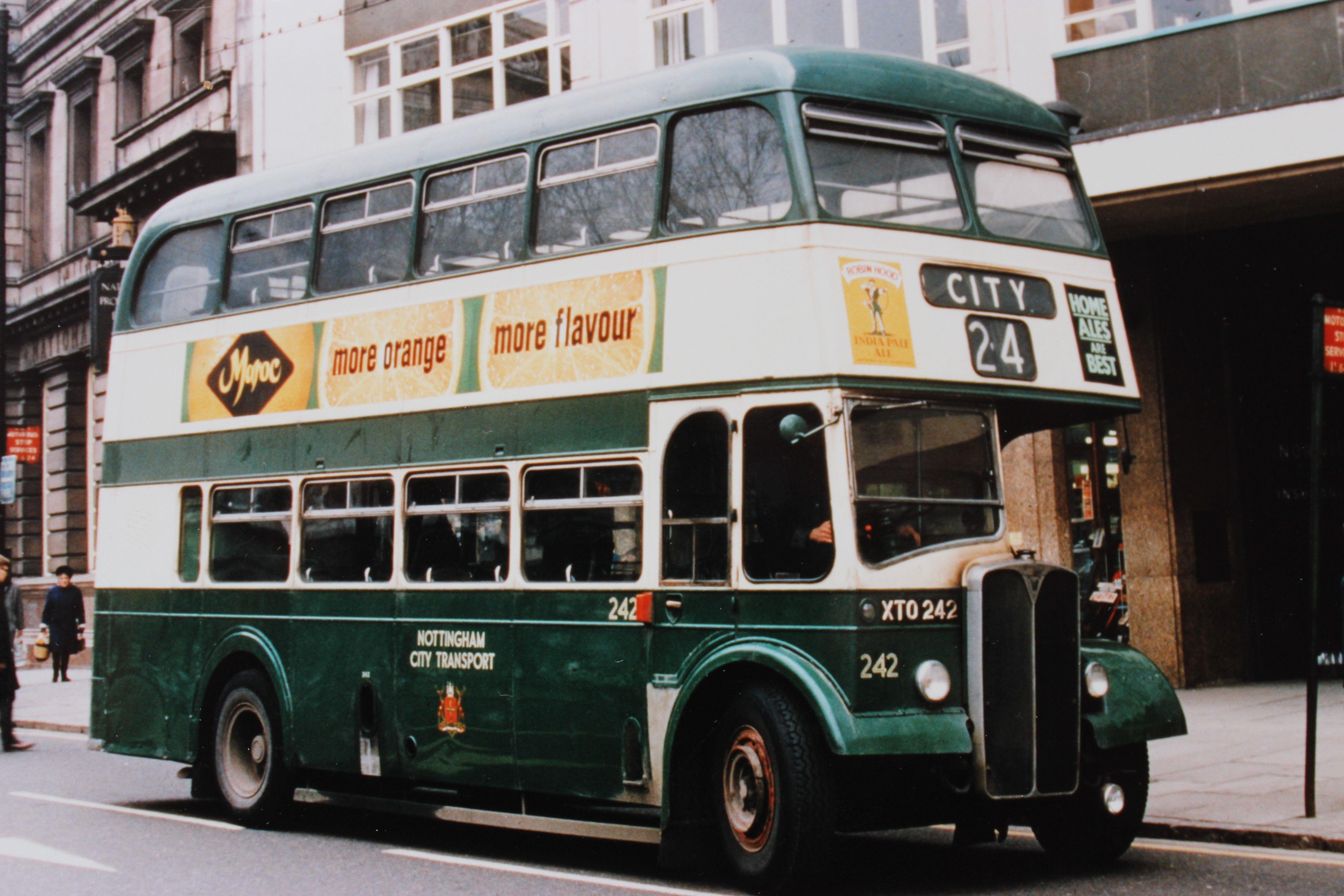 1956 Park Royal Bodied Aec Regent V On South Parade Fleet Number