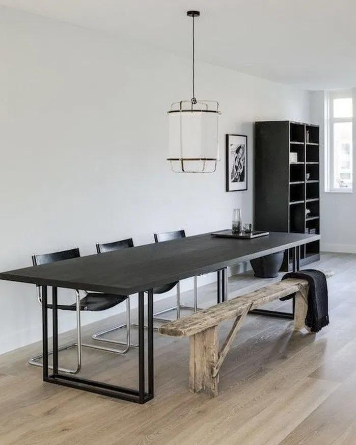 50 Minimalist Dining Room Ideas In 2020 Minimalist Dining Room