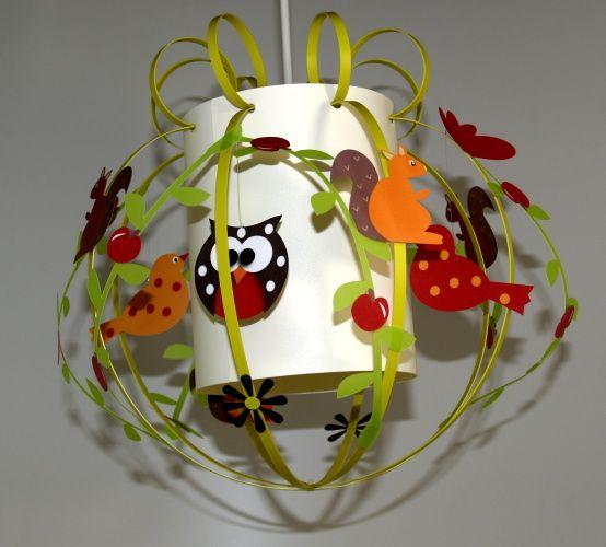 luminaire enfant d coration animaux de la for t diy pinterest d coration animale. Black Bedroom Furniture Sets. Home Design Ideas