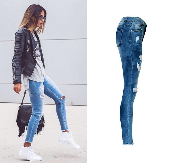 Pin On Jeans Mujer