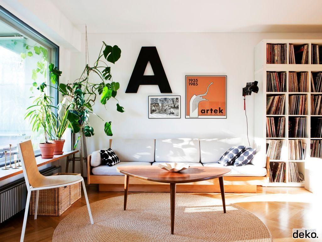 Innenarchitektur wohnzimmer für kleine wohnung living room  scandinavian deko  regale  pinterest  wohnzimmer