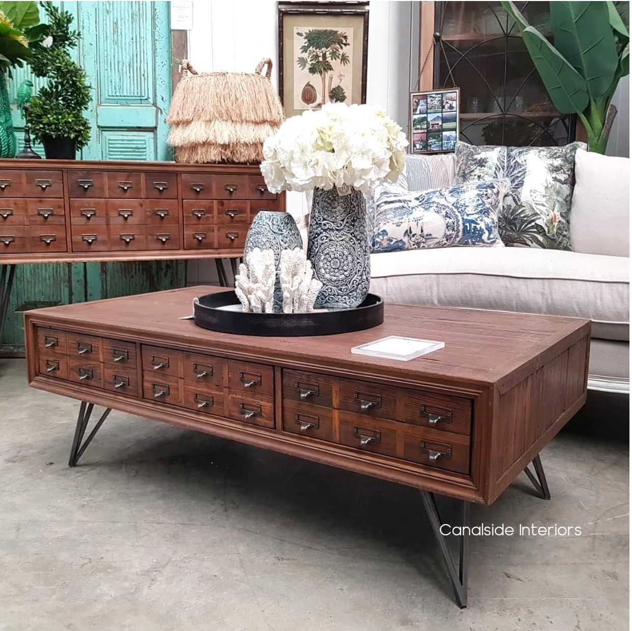 Apothecary Coffee Table 2 Sizes Cool Coffee Tables Coffee Table Living Room Table [ 1240 x 1242 Pixel ]