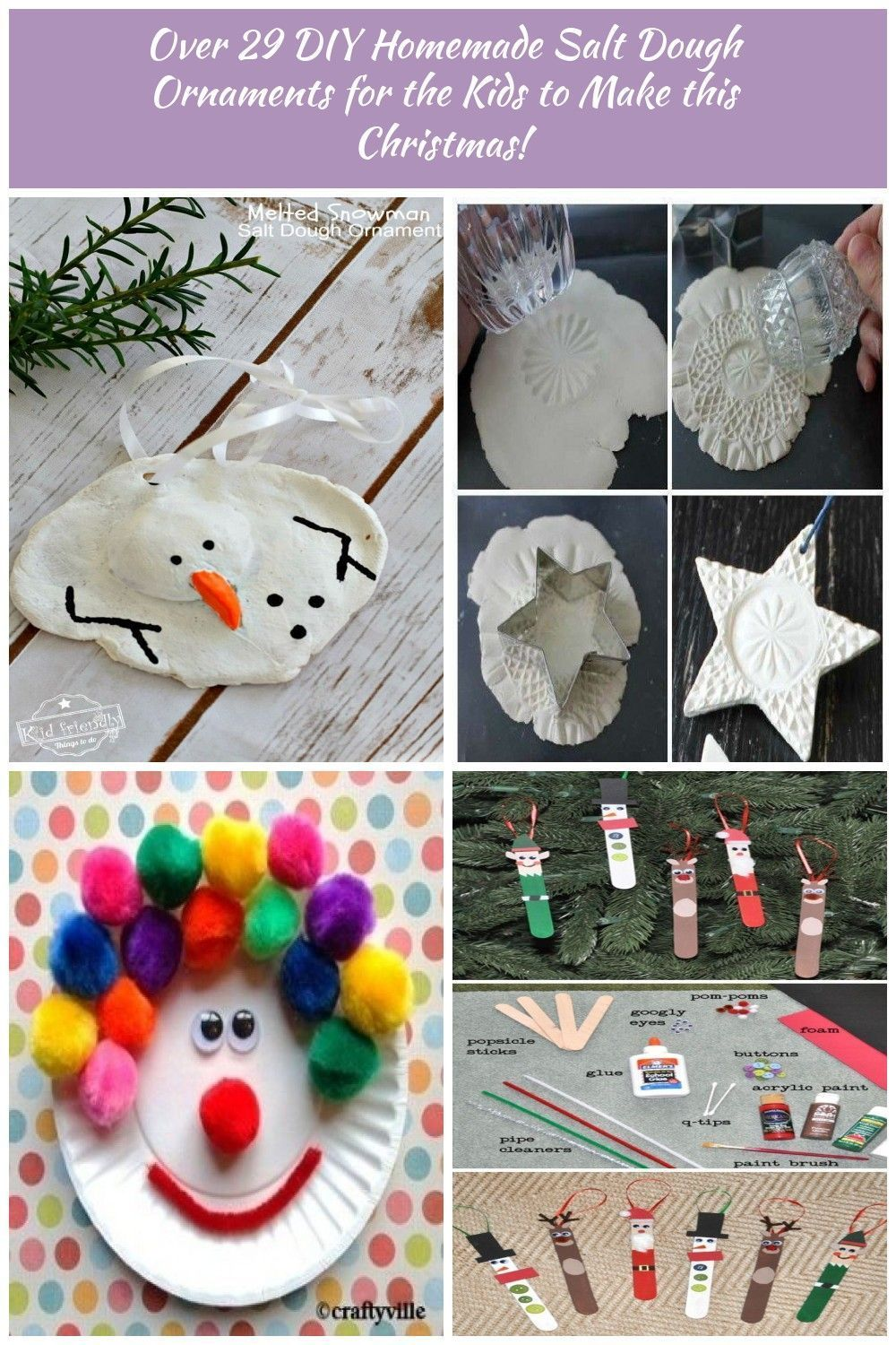 Over 29 Diy Homemade Salt Dough Ornaments For The Kids To Make This Christmas Great Kids Christmas Crafts Easy Christmas Crafts For Kids Salt Dough Ornaments