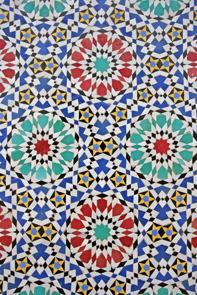 Moroccan Tile at the Imperial Palace - Fes, Morocco | Flickr - Photo Sharing!