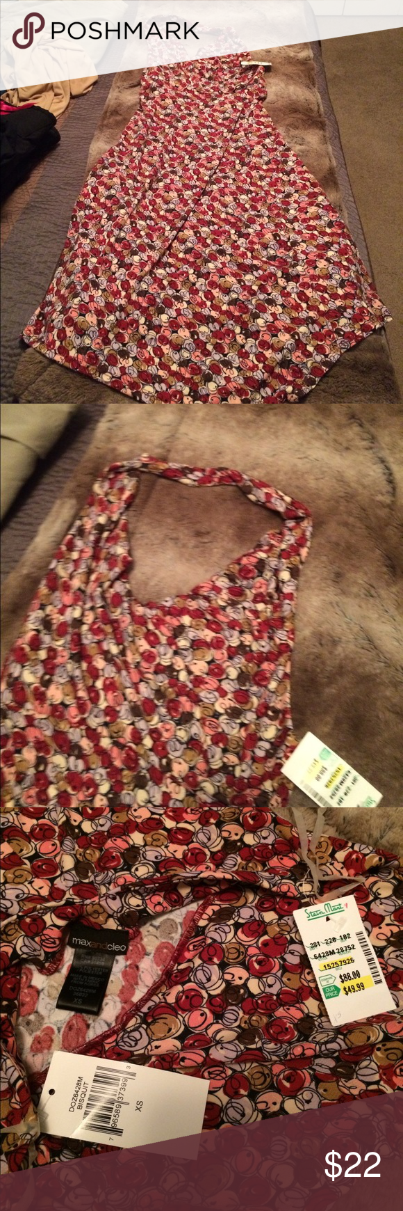 NWT Max and Cleo extra small halter dress Size extra small new with tags max and Cleo halter dress Max & Cleo Dresses Backless