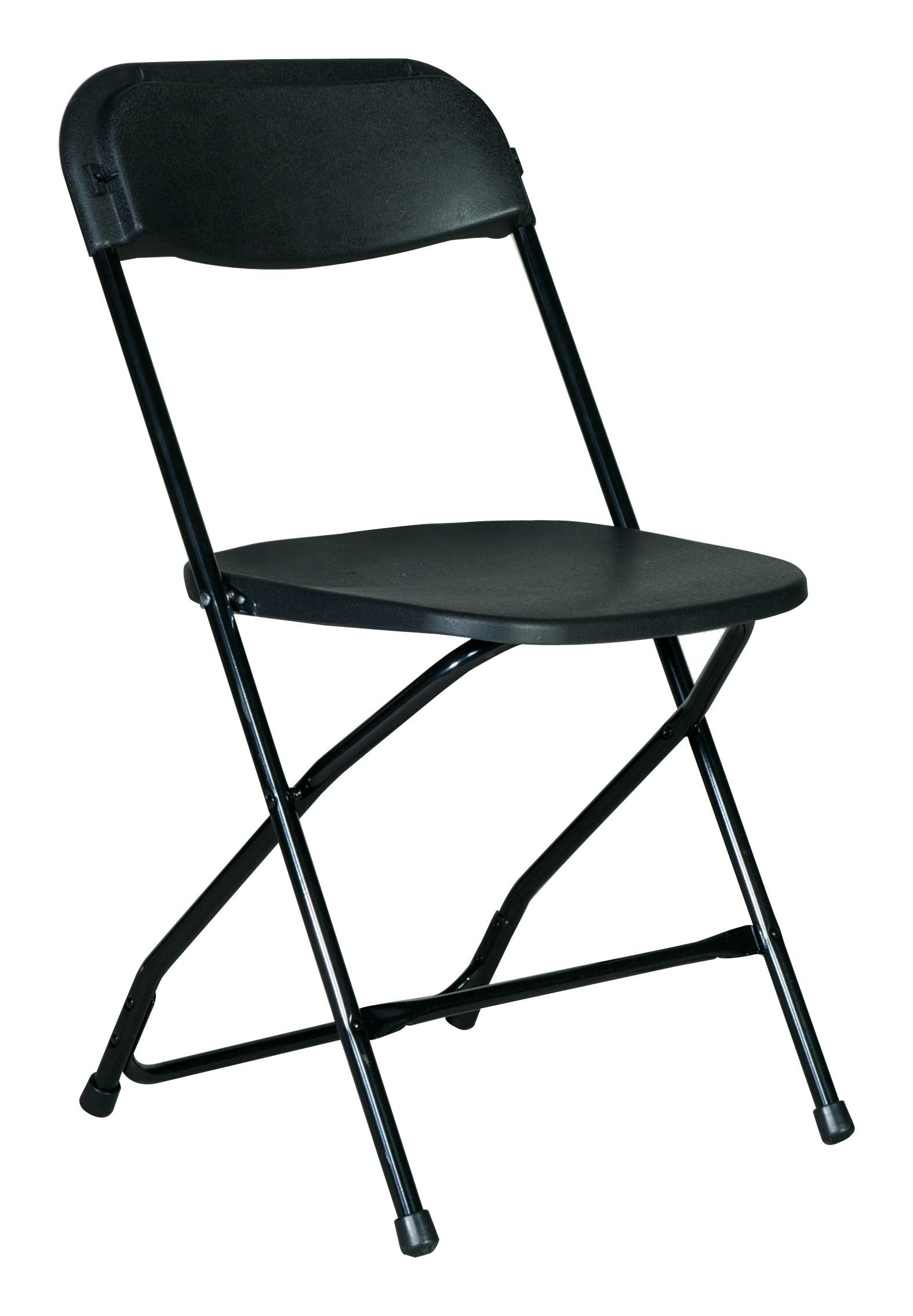 Black Basic Folding Chair Contact ABC Rentals Special Events to