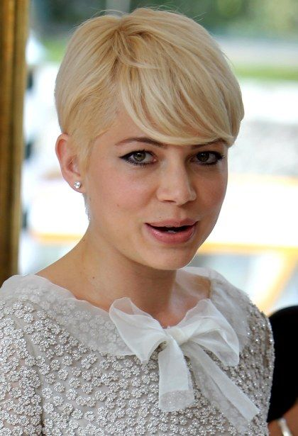 Michelle Williams Hair Michelle Williams Hair Messy Blonde Hair