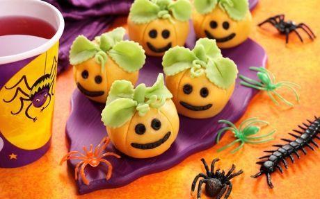Marzipan Pumpkin Truffles - 18 Bizarre Halloween Cakes