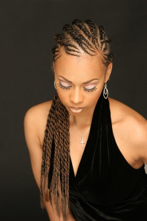 40 Chic Twist Hairstyles For Natural Hair Twist Hairstyles Braided Hairstyles Natural Hair Styles