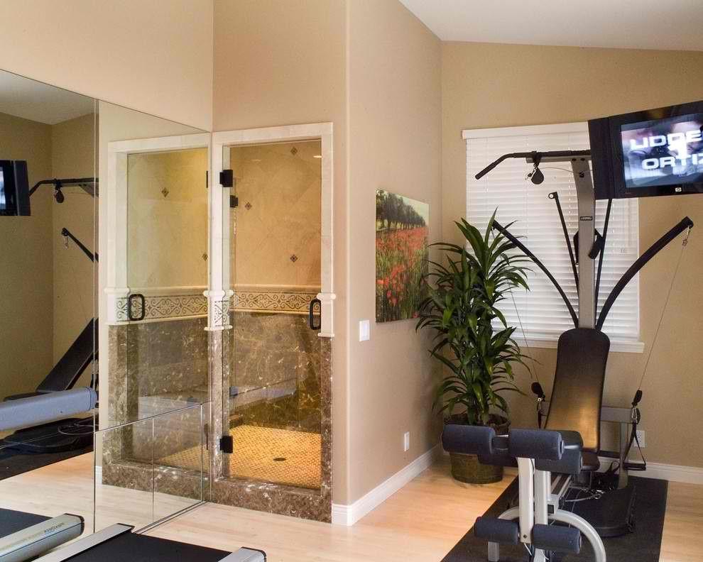 Gym Bathroom Designs Prepossessing Gym Ideas #kbhomes  Home Gym & Spa  Pinterest  Home Gym And Review