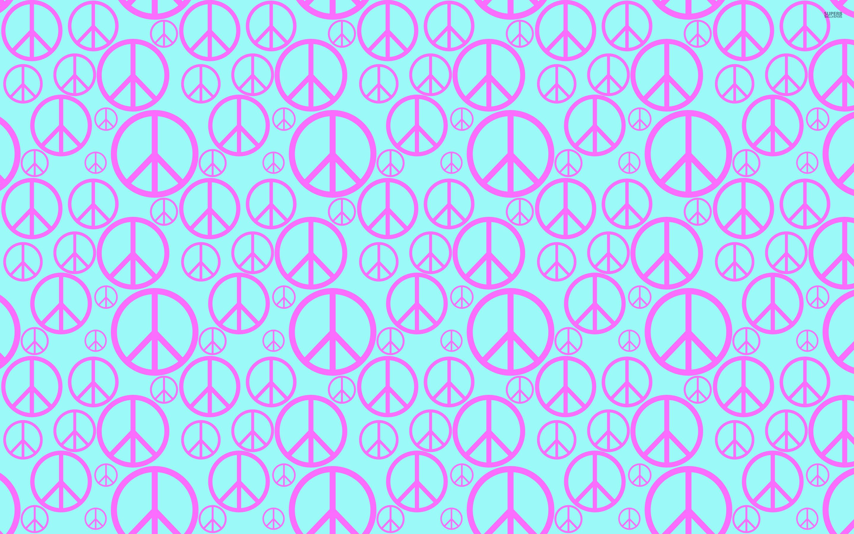 Peace Sign Backgrounds Peace symbol pattern wallpaper