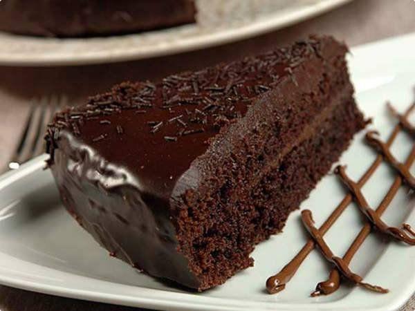 Bolo De Chocolate Molhadinho Saboroso Veja 134 Bolo De