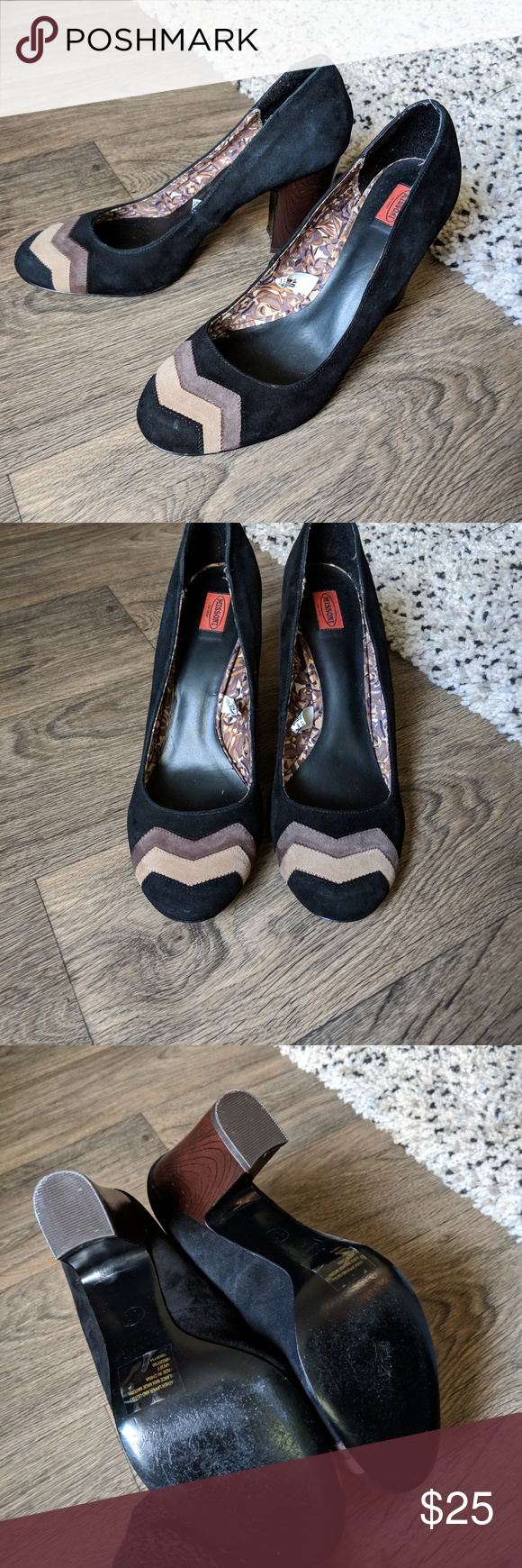 5154be7e1e5c MISSONI for Target Black Suede Zig Zag Pumps MISSONI for Target Black Suede Zig  Zag Pumps