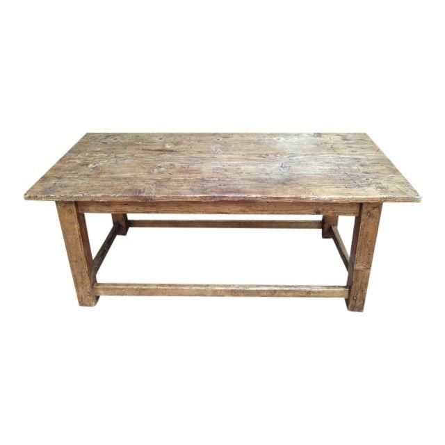 Image Of French Antique Pine Coffee Table Pine Coffee Table