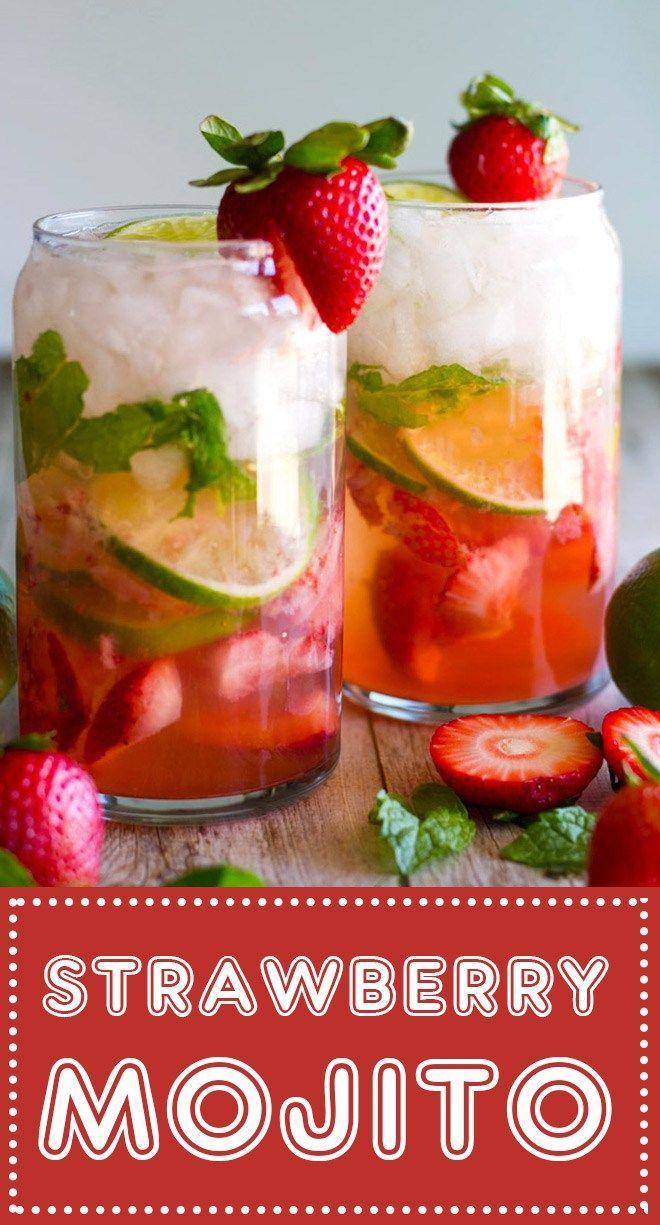 Photo of Fresh Strawberry Mojito – My Zen Kitchen