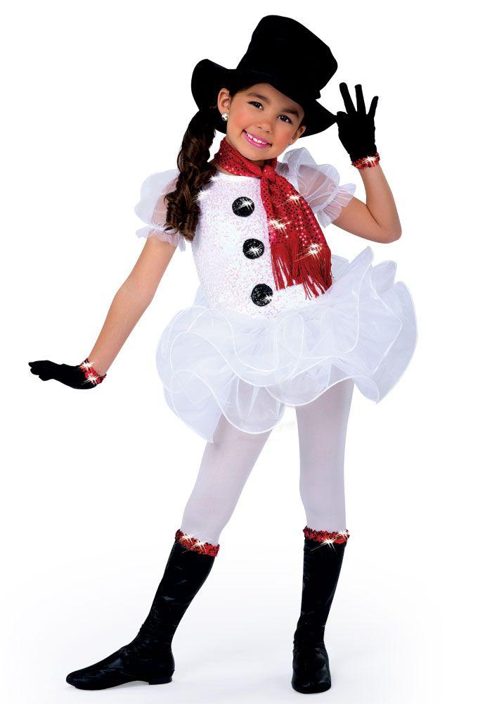 H408 frosty disfraces disfraces de navidad - Disfraces navidenos para ninas ...