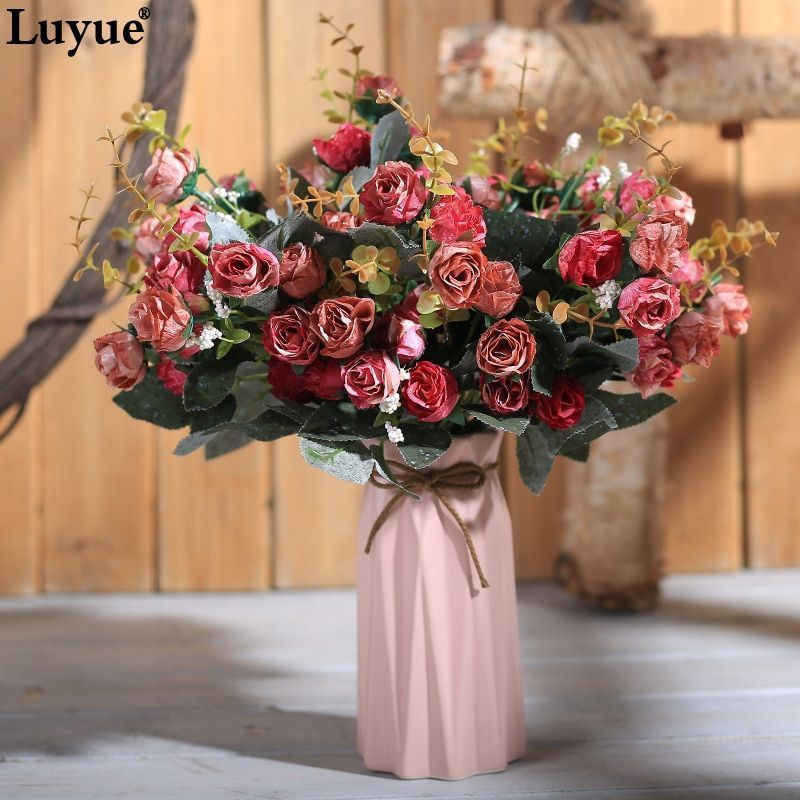 Luyue European Retro fake rose wedding & home artificial flowers silk Peony bride bouquet small flower heads wreath diy Garland #flowerheadwreaths Luyue European Retro fake rose wedding & home artificial flowers silk Peony bride bouquet small flower heads wreath diy Garland #flowerheadwreaths Luyue European Retro fake rose wedding & home artificial flowers silk Peony bride bouquet small flower heads wreath diy Garland #flowerheadwreaths Luyue European Retro fake rose wedding & home artificial fl #flowerheadwreaths