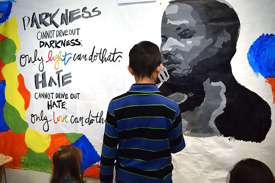 MLK Day Volunteer and Celebrate with Kids in New Jersey