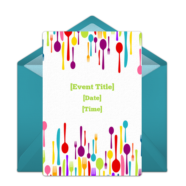 Free Food Drink Invitations Free Party Invitations Brunch Invitations Birthday Dinner Party