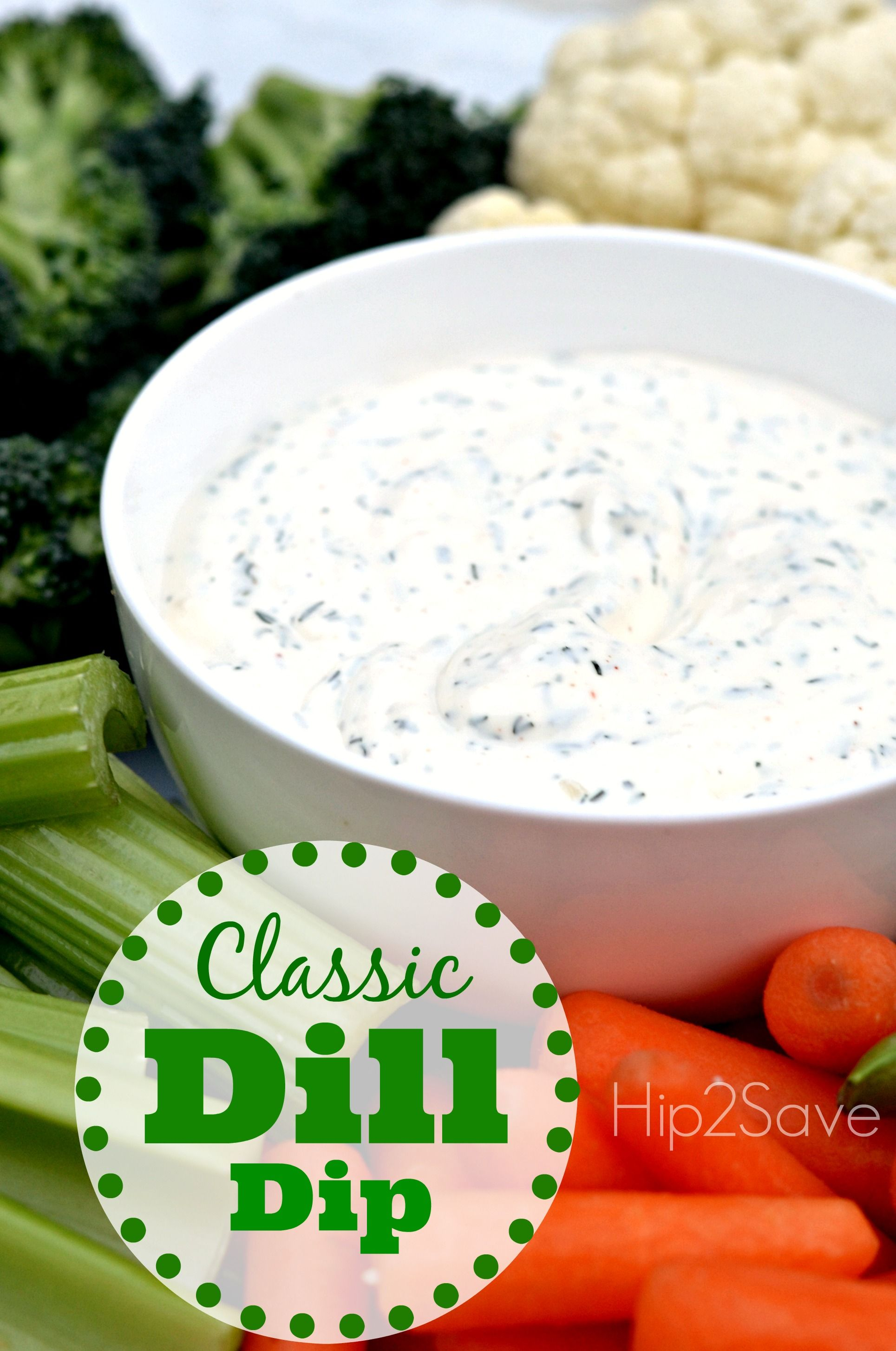 If You Re Looking For A Quick Appetizer Idea Try This Classic Creamy Dill Dip That S Both Easy To Make And A Crowd Pleaser It Requir With Images Dill Dip Recipes Dill