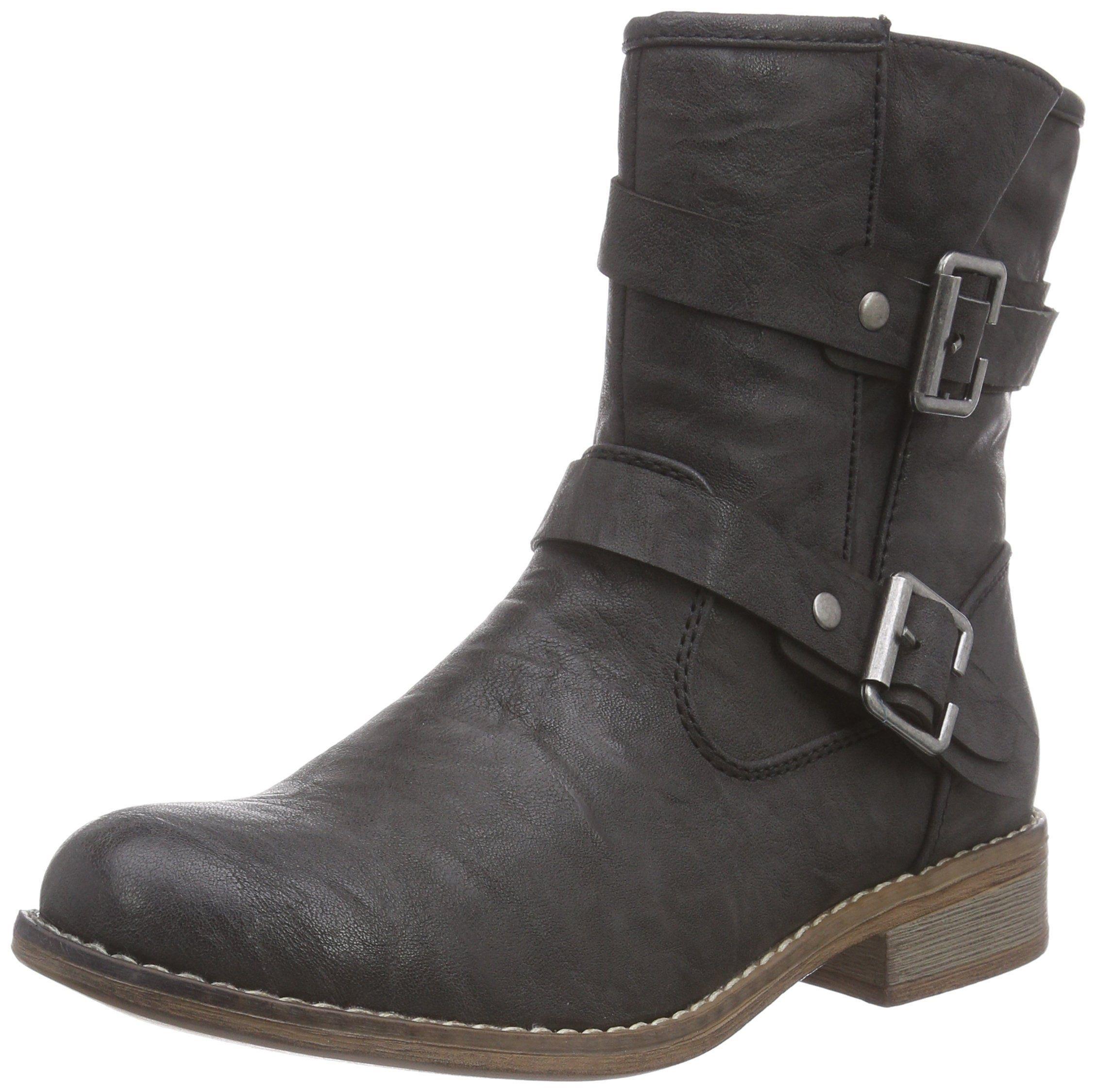 Rieker Cowboy Bikerstiefelette jeans | Stiefel