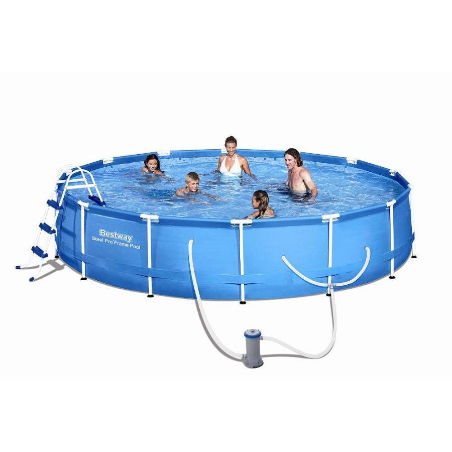 Bestway Steel Pro Frame Pool Bestway Pool Inflatables