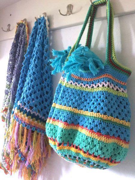 """Photo of Crochet """"remaining stock – bag"""" – crochet fever"""